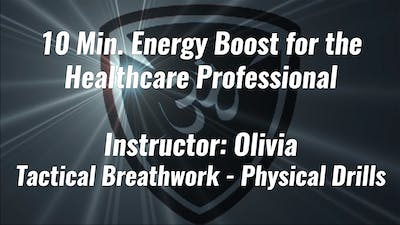 10 Min. Energy Boost for the Healthcare Professional by Yogashield Yoga For First Responders