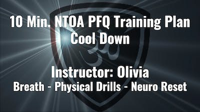 NTOA PFQ Training Plan Cool Down by YogaShield Yoga For First Responders