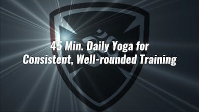 Daily yoga for consistent, well-rounded training by YogaShield Yoga For First Responders