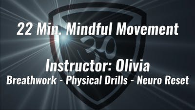 22 Min. Mindful Movement Instructor: Olivia by YogaShield Yoga For First Responders