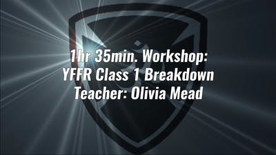 1hr 35min. Workshop YFFR Instructor Training Class 1 by YogaShield Yoga For First Responders