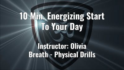 10 Min. An Energizing Wake Up by YogaShield Yoga For First Responders