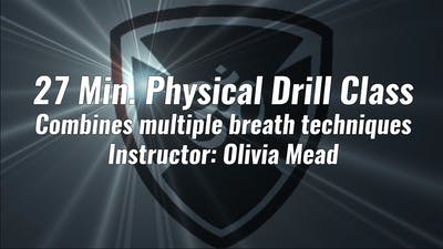 27 Min. Physical Drill Class by YogaShield Yoga For First Responders