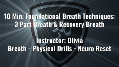 Foundational Techniques: Three Part Breath and Recovery Breath by YogaShield Yoga For First Responders