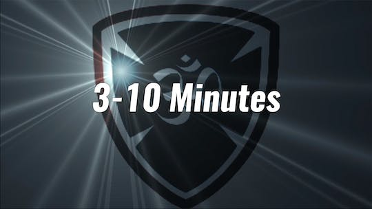 3-10 Minutes by YogaShield Yoga For First Responders