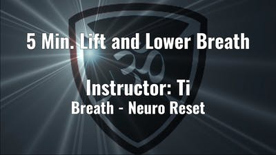 5 Min. Lift and Lower Breath by YogaShield Yoga For First Responders