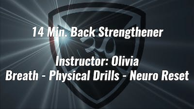 14 Min. Back Strengthener by Yogashield Yoga For First Responders