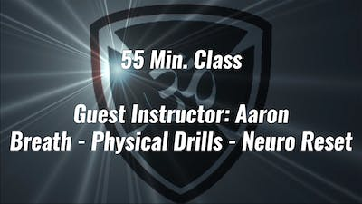 55 Min. Advanced Class Guest Instructor: Aaron by Yogashield Yoga For First Responders