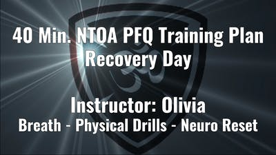NTOA PFQ Training Plan Recovery Day by Yogashield Yoga For First Responders