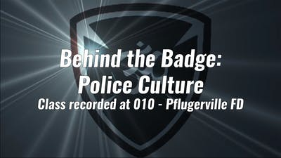 Behind the Badge Police Culture by Yogashield Yoga For First Responders