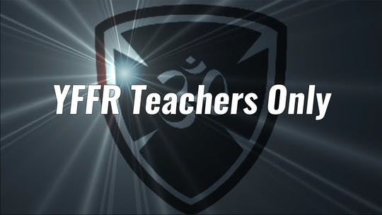 YFFR Teachers Only by Yogashield Yoga For First Responders