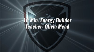 10 Min. Energy Builder by YogaShield Yoga For First Responders