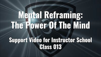 Mental Reframing The Power Of The Mind by YogaShield Yoga For First Responders