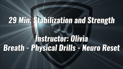 29 Min. Stabilization and Strength by YogaShield Yoga For First Responders