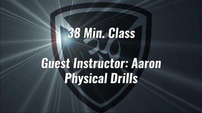 38 Min. High Intensity Class Guest Instructor Aaron by Yogashield Yoga For First Responders