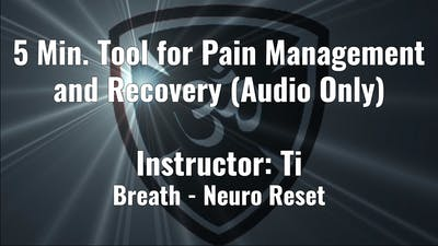 5 Min. Tool for Pain Management and Recovery by YogaShield Yoga For First Responders