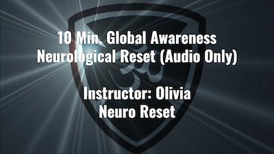 10 Min. Global Awareness Neurological Reset Exercise by YogaShield Yoga For First Responders