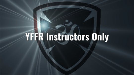 YFFR Instructors Only by YogaShield Yoga For First Responders