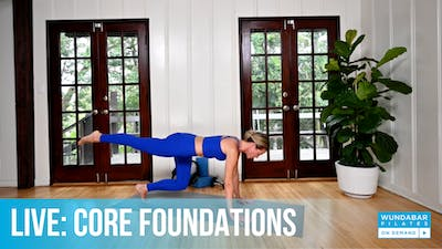 WundaLIVE- Core Foundations by WundaBar Pilates