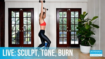 WundaLIVE- Sculpt, Tone, Burn by WundaBar Pilates
