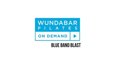 Blue Band Blast by WundaBar Pilates
