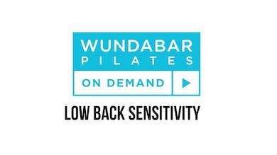 PRO TIP - LOW BACK SENSITIVITY by WundaBar Pilates