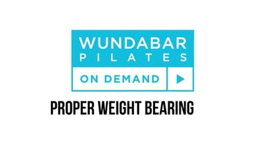 PRO TIP - PROPER WEIGHT BEARING by WundaBar Pilates