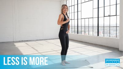 Less is More by WundaBar Pilates