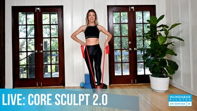 WundaLIVE- Core Sculpt 2.0 by WundaBar Pilates