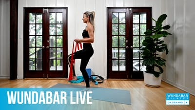 WundaLIVE- Red Band Burn by WundaBar Pilates
