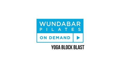 Yoga Block Blast by WundaBar Pilates