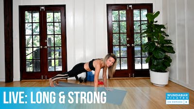 WundaLIVE- Long & Strong by WundaBar Pilates
