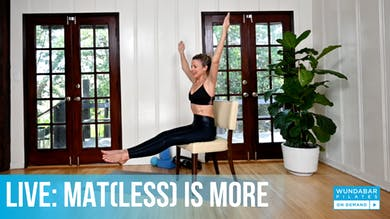 WundaLIVE- Mat(less) is More by WundaBar Pilates
