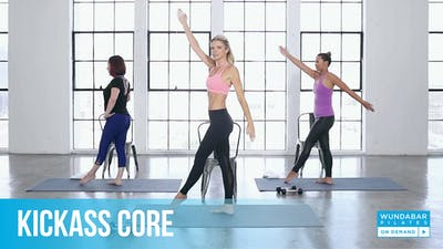 KICKASS CORE by WundaBar Pilates