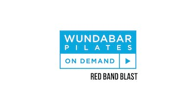 Red Hot Band Blast by WundaBar Pilates