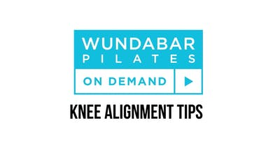PRO TIP- KNEE ALIGNMENT by WundaBar Pilates