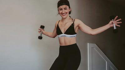 Week 1 Day 1 - UPPER BODY BURN with Alex by Barre Belle Inc.