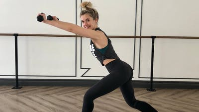Day 23 - Full Body HIIT barre with Kristi by Barre Belle Inc.