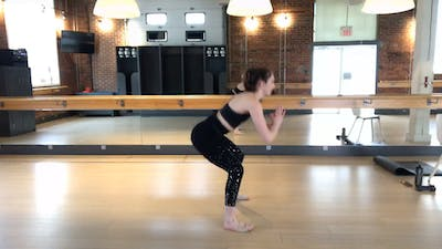 Barre Press with Sharon 40min by Barre Body Studio