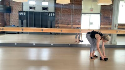 Barre Press low impact with Chelsey 30 mins by Barre Body Studio