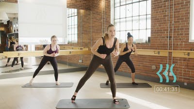 Body by Barre with Vanessa 42 mins by Barre Body Studio