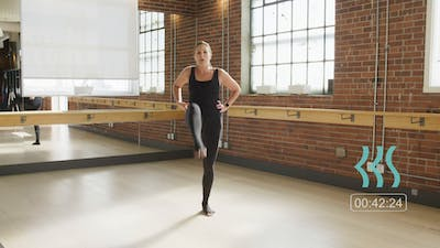 Low impact Barre with Tara by Barre Body Studio