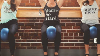 BARRE.SO.HARD with Amber 50 mins Mar 21, 2020 by Barre Body Studio