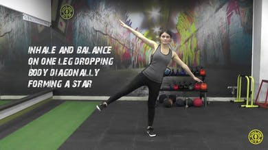 Star Pose by Gold's Gym Anywhere