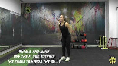 Tuck Jump by Gold's Gym Anywhere