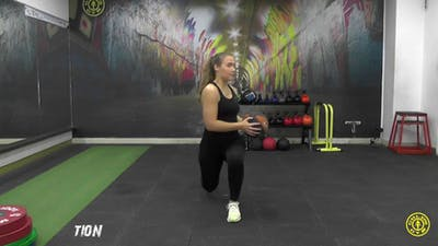 Lunge and Twist by Gold's Gym Anywhere