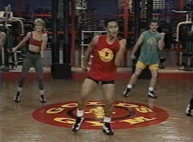 VHS - Warm Up and Cardio by Gold's Gym Anywhere