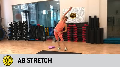 Ab stretch by Gold's Gym Anywhere