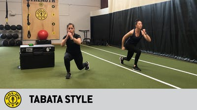 Tabata Style by Gold's Gym Anywhere