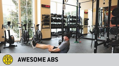 Awesome Abs by Gold's Gym Anywhere